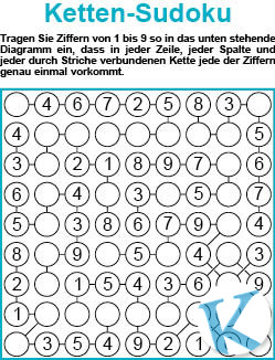Ketten-Sudoku