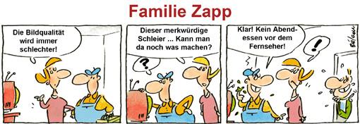 Comic Familie Zapp