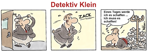 Comic Detektiv Klein