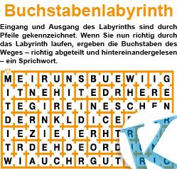 Buchstabenlabyrinth