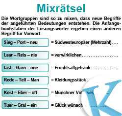 Mixrätsel