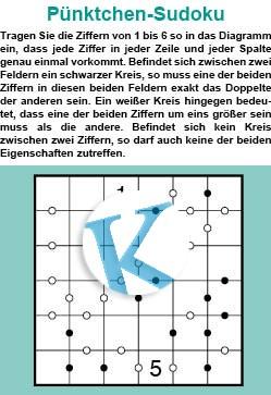 Pünktchen-Sudoku
