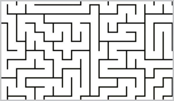 einfache Labyrinthe