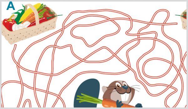 Labyrinthe für Kinder