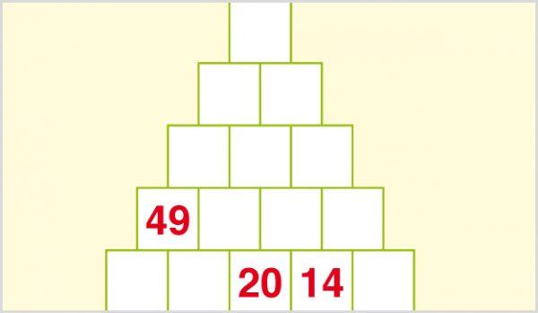 Zahlenpyramide